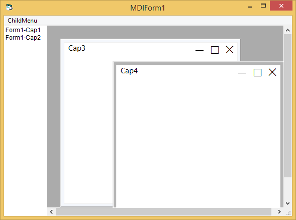 Window style MDIChild on Windows 10-VBForums